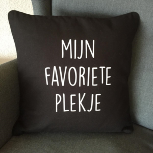Kussenhoes | Mijn favoriete plekje