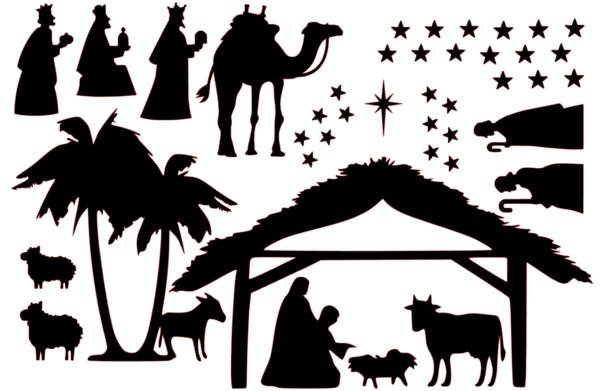 kerst raamstickers