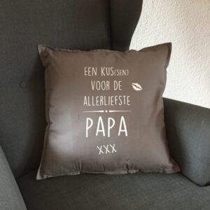Kussenhoes | Een kus(sen) voor...