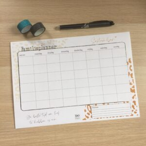 Free Printable | Familieplanner
